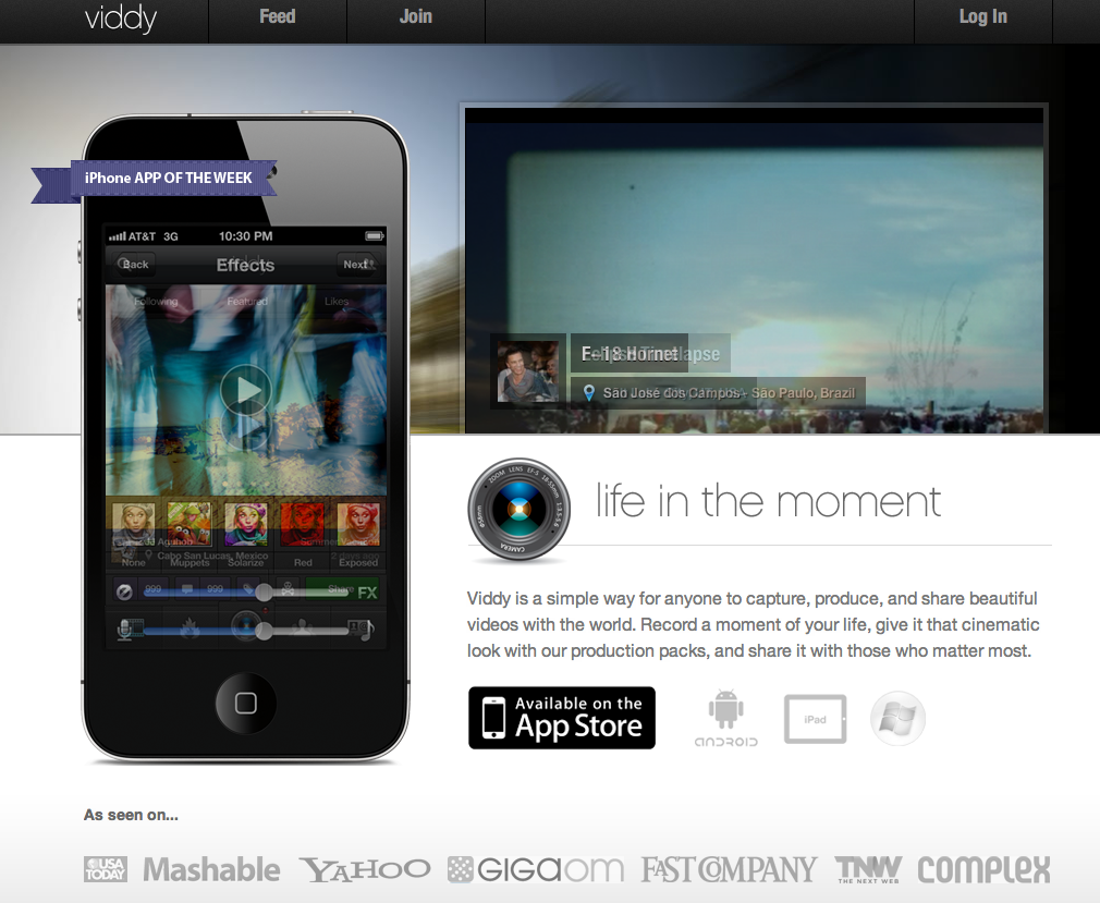 Viddy is the new Instagram for video with 1 million new